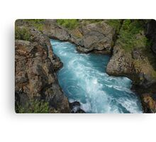 Waterfall in Iceland Canvas Print