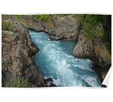 Waterfall in Iceland Poster