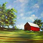 The Red Barn by Brett Greiman