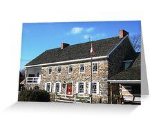 Dobbin House at Christmas Greeting Card
