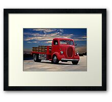 1941 Ford COE Flatbed Truck Framed Print