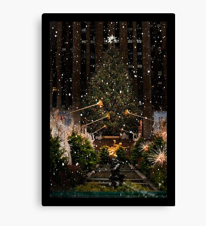At Rockefeller Center Canvas Print