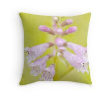 Pink Obedience Throw Pillow
