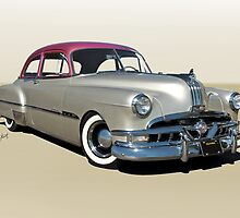 1951 Pontiac Chieftain 'Mild Custom'  by DaveKoontz