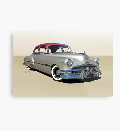 1951 Pontiac Chieftain 'Mild Custom'  Metal Print