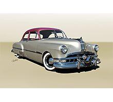 1951 Pontiac Chieftain 'Mild Custom'  Photographic Print