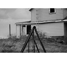 abandoned farmhouse original photo Photographic Print