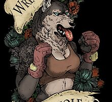 WRECK IT LIKE A WEREWOLF- SFW by WOLFSKULLJACK