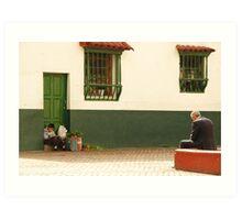 Two generations Bogota Art Print