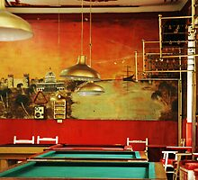Pool hall Bogota by Cammi