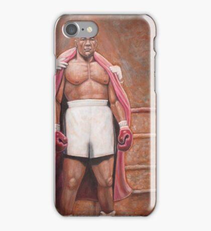 """Big"" George Foreman iPhone Case/Skin"
