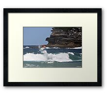 Kelly Slater - Bondi Beach Boost Show Framed Print