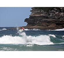 Kelly Slater - Bondi Beach Boost Show Photographic Print