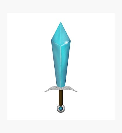 Minecraft Sword (ish) Photographic Print