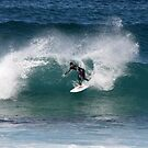Surfer - Bondi Beach by Mick Duck