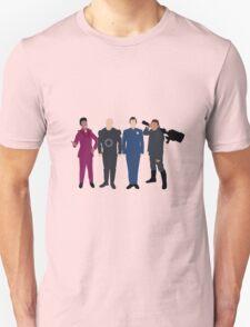 Red Dwarf Minimal Figures T-Shirt