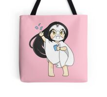 Blue snow: Shimoneta Tote Bag