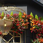 Pub and Flowers by Geraldine Miller