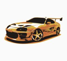Paul Walker`s Supra (fast and furious) by GKuzmanov