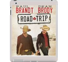 PAUL BRANDT AND DEAN BRODY TOUR 2015 iPad Case/Skin