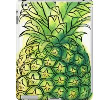 Watercolour pineapple iPad Case/Skin