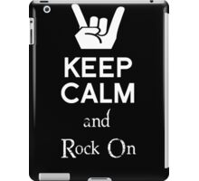 Keep Calm (2) iPad Case/Skin