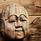 Wooden Buddha by SuddenJim