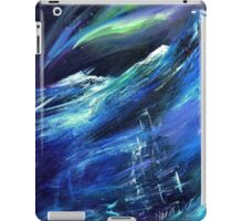 Polaris - Ship in an Arctic Storm Painting iPad Case/Skin
