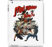 mad monkey kung fu iPad Case/Skin