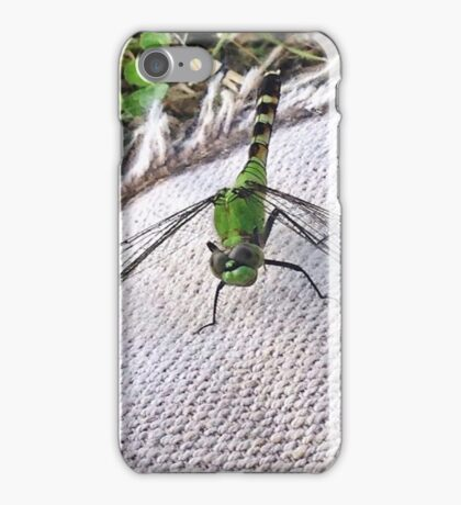 Dragonfly Closeup iPhone Case/Skin
