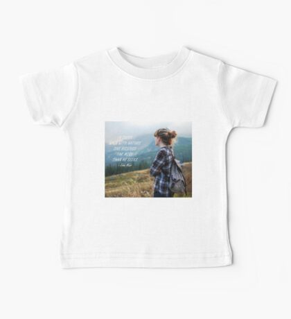 Walk with nature Baby Tee