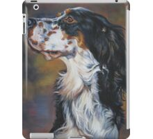 English Setter Spaniel Fine Art Painting iPad Case/Skin