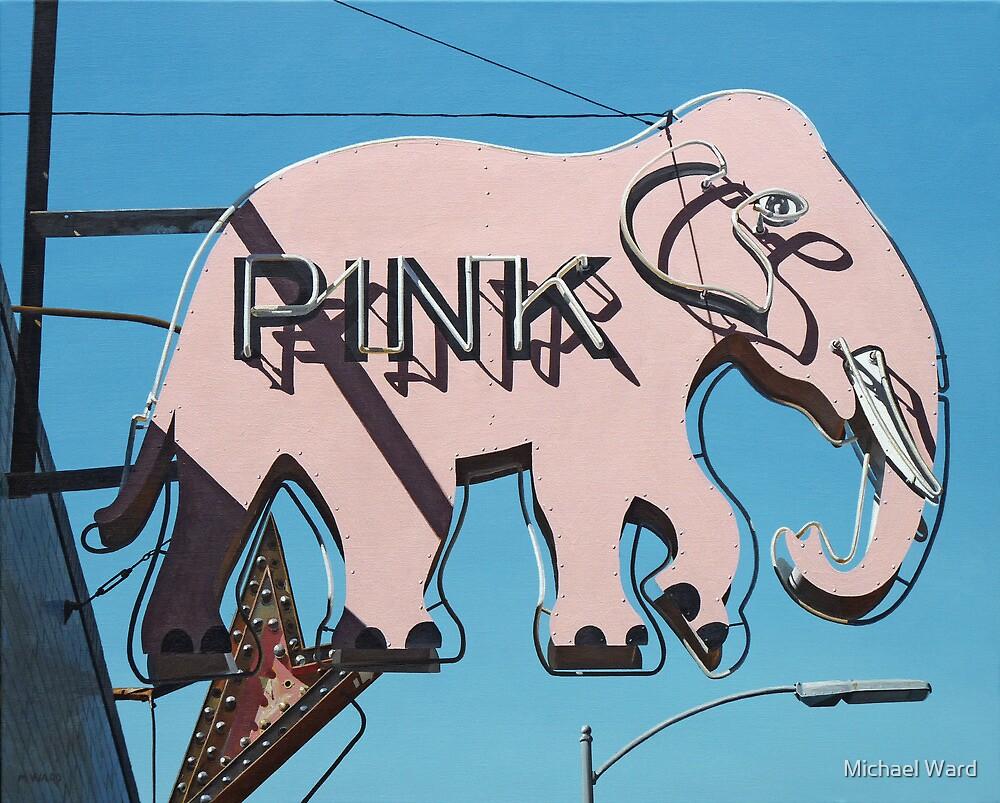 Pink Elephant #3 by Michael Ward