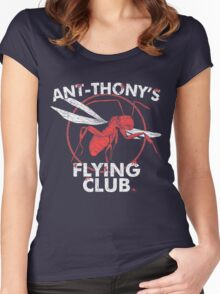 Ant Flying Club Women's Fitted Scoop T-Shirt