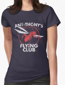 Ant Flying Club Womens Fitted T-Shirt