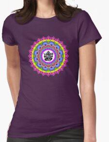 Rangoli Ganesh Mandala Womens Fitted T-Shirt