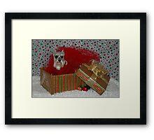 Merry Christmas Annie Framed Print