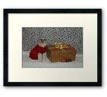 Merry Christmas Annie 2 Framed Print