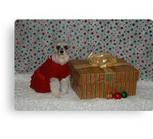 Merry Christmas Annie 2 Canvas Print
