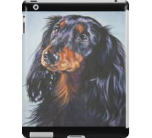 Dachshund Fine Art Painting iPad Case/Skin
