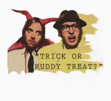 Trick or Ruddy Treat by jenbewonderland