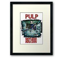 pulp disco 2000 Framed Print