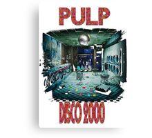 pulp disco 2000 Canvas Print