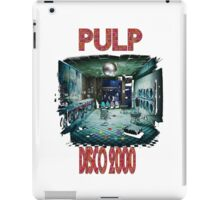 pulp disco 2000 iPad Case/Skin