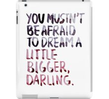 "Inception: ""Dream A Little Bigger"" iPad Case/Skin"