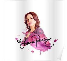 Lana Parrilla / Autograph  Poster