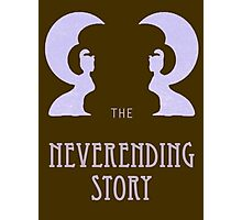 The Neverending Story - Book and Movie Cover Photographic Print