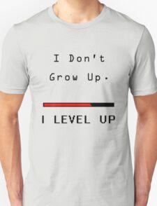 Nerdy - I Dont' Grow Up T-Shirt