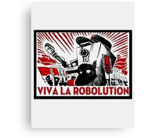 Borderland - Clap Trap Viva la Robolution Canvas Print
