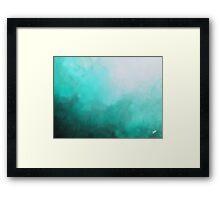 Blue Oblivion  Framed Print